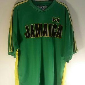 Jamaica Polo Shirt Size Large